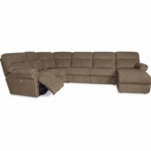 la z boy sheldon casual four piece reclining sectional With la z boy sectional sofas