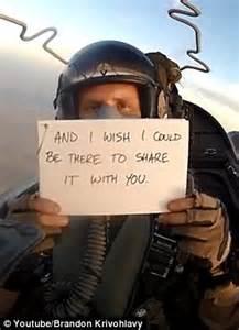meet   brother  pilot writes messages  cards