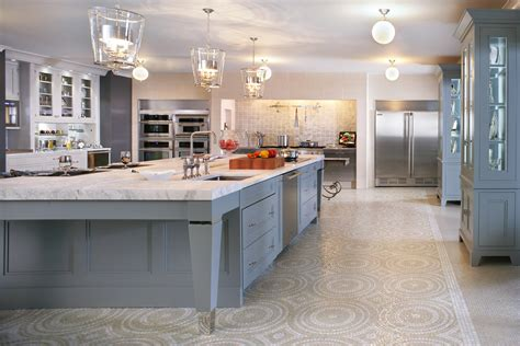 stunning images pictures of big kitchens williams blue ribbon color palette featured in