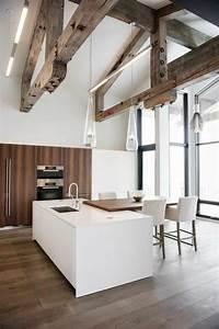 Deco Maison Avec Poutre : poutres bois pour un beau d cor dans le style rustique ~ Zukunftsfamilie.com Idées de Décoration