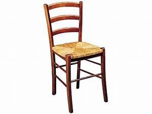 Chaise en hetre massif et avec assise en paille paysanne for Deco cuisine avec chaise en promotion