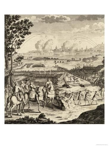 siege botanic siege of barcelona 1705 giclee print at allposters com