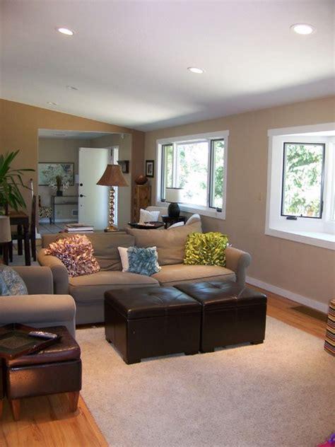 small sitting area  family contemporary family room