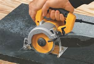 dewalt 4 3 8 quot wet and dry hand tile cutter tool snob