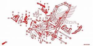 Frame Body For Honda X Adv 750 2017   Honda Motorcycles  U0026 Atvs Genuine Spare Parts Catalog