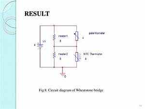 Temperature Sensor Readout V Circuit For Microheater
