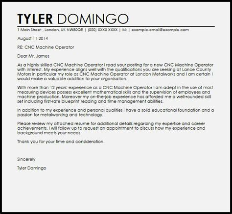 fitter machinist cover letter cover letter for machinist resume template cover letter