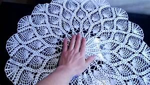 Crochet Pineapple Doily  Crochet Pineapple Tablecloth
