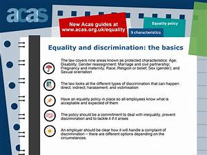 Anti Discrimination Policy Template Promote Equality Diversity And Inclusion