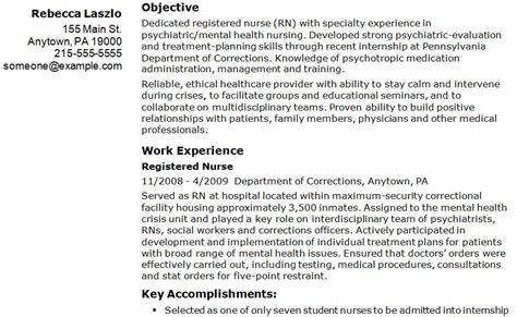 Sle Resume For Rn Bsn by Registered Practical Resume Sle 100 Images Nursing Cv
