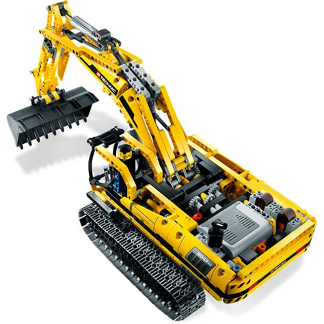 lego motorized excavator set  brick owl lego marketplace