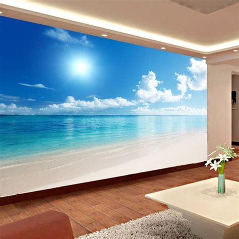 buy custom mural wallpaper  ocean view