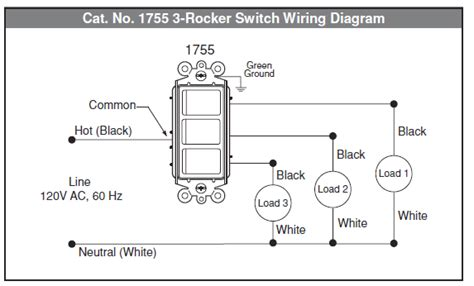 Electrical How Wire Multi Control Rocker Switch