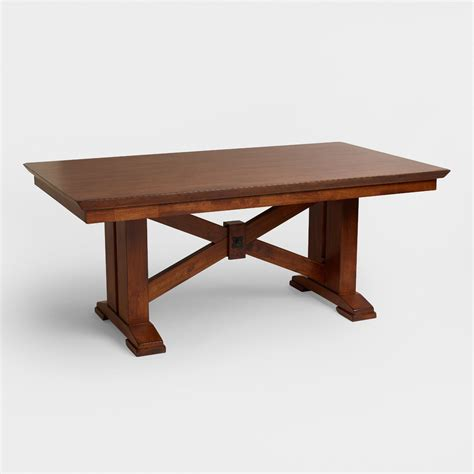 world dining table lugano dining collection world market room ornament 3660