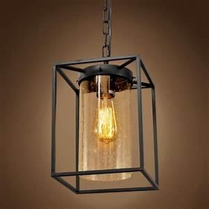 New pendant chandelier industrial edison light restoration