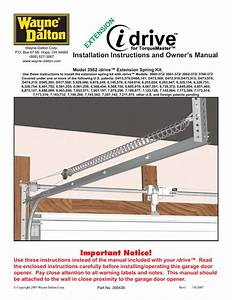 How To Reprogram A Wayne Dalton Idrive Garage Door Opener
