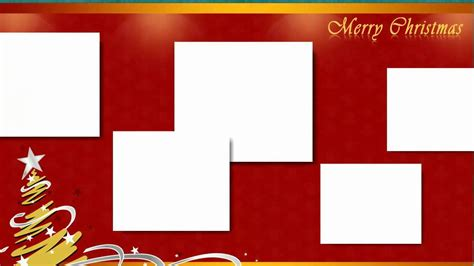 christmas collage  scrapbook templates hd video youtube