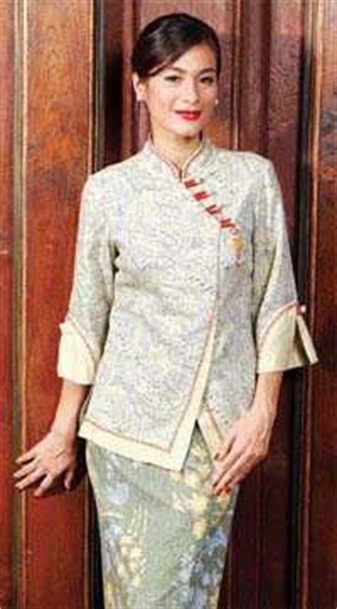 baju kerja batik kombinasi polos penelusuran google