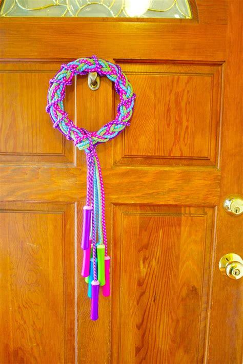 jump rope wreath dollar store crafts