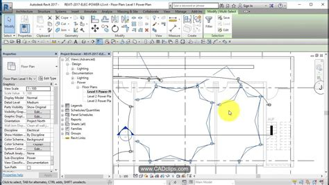 Revit Electrical Power Add Wires Home Runs Youtube