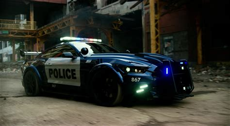 wallpaper police car transformers ford mustang