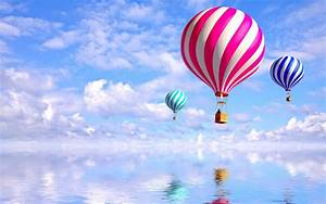 Balloons, Water, Reflection, Wallpapers, Hd, Desktop, And, Mobile, Backgrounds