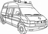 Ambulance Coloring Pages Drawing Truck Minivan Printable Easy Lego Pokemon Coloringbay Sheets Heart Getdrawings Cartoon Preschoolers Monster Getcolorings Awesome sketch template