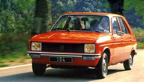 Peugeot 104 Technical Specifications And Fuel Economy