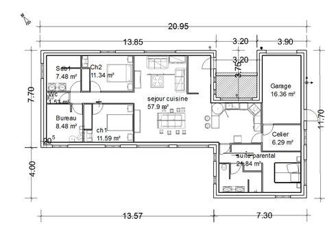maison 4 chambres plain pied maison plain pied 4 chambres maison moderne