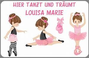 Alternative Zur Zimmertür : t rschild ballett mit wunschname ballarina neu im kinderlampenland kaufen ~ Sanjose-hotels-ca.com Haus und Dekorationen