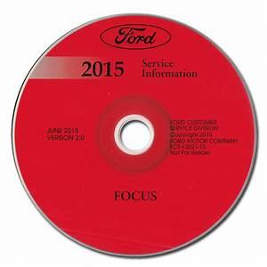 Diagram  201ford Focus Service Repair Shop Set Oem
