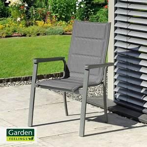 garden feelings alu stapelstuhl im aldi nord angebot kw With katzennetz balkon mit garden feelings gartentisch