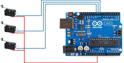 Arduino Switch by How To Connect A Limit Switch Omron V 156 1a5 And An Opto