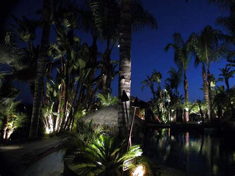 san diego landscape lighting by artistic illumination