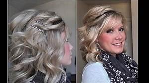 Coiffure Blonde Mi Long : coiffure pour mariage cheveux mi long youtube ~ Melissatoandfro.com Idées de Décoration