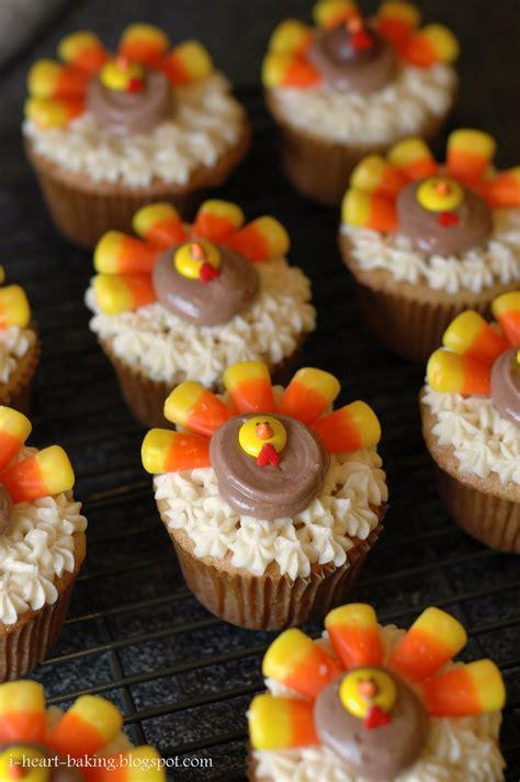 thanksgiving baking ideas i heart baking thanksgiving turkey cupcakes brown sugar pound cakes with bailey s irish