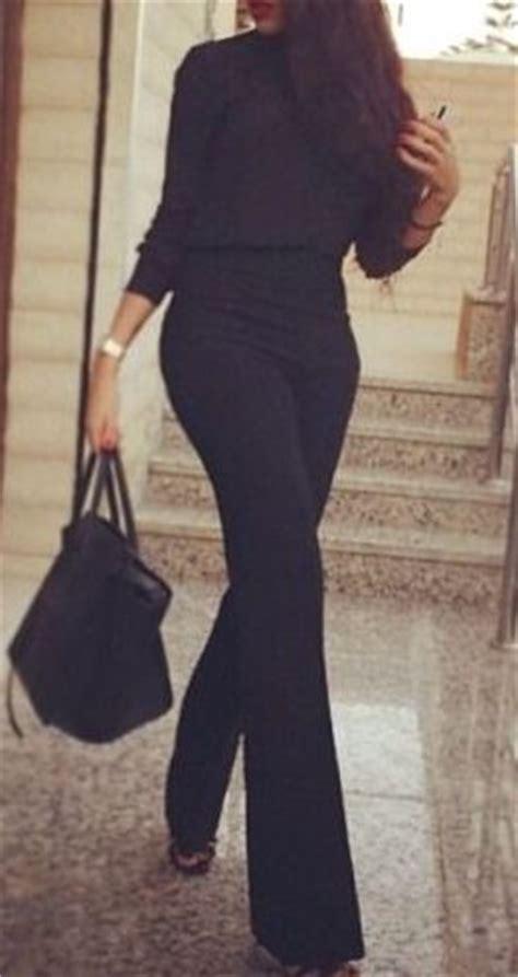 Best 25+ Funeral attire ideas on Pinterest | Black work trousers Black wide leg trousers outfit ...