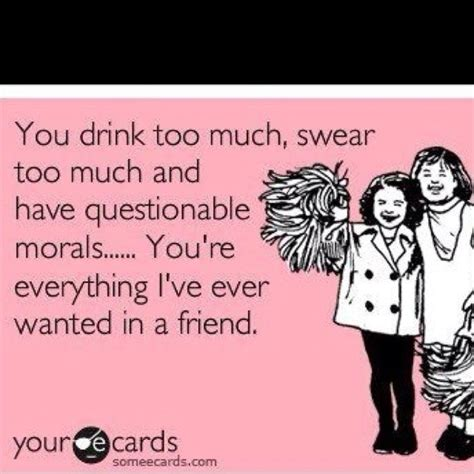 funny drinking quotes with friends