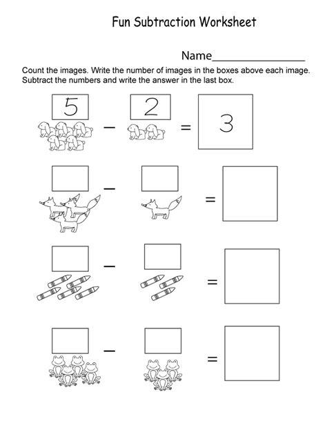 Free Kindergarten Worksheets  Activity Shelter