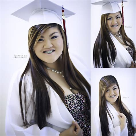 cap and gown hairstyles with bangs hairstyles