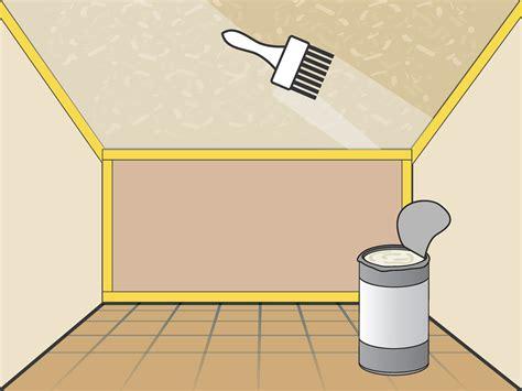ways  stipple ceiling wikihow