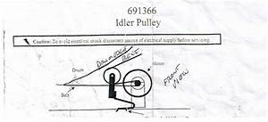 Solved  How To Reinstall Idler Pulley And Belt