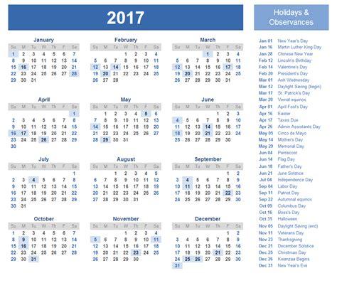 vacation calendar template 2017 calendar 2017 weekly calendar template