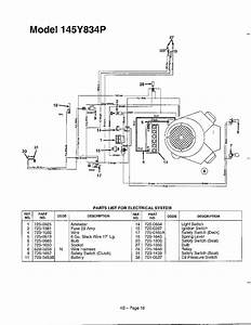 Electrical System Page 3 Diagram  U0026 Parts List For Model