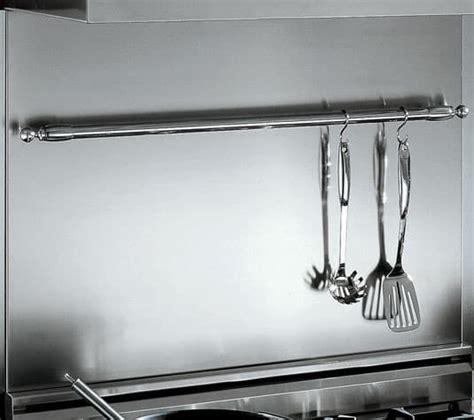 bertazzoni bsherx   stainless steel backsplash