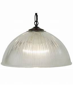 Prismatic glass dome pendant sizes