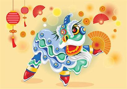 Vector Lion Dance Chinesse Chinese Clipart Scorpion