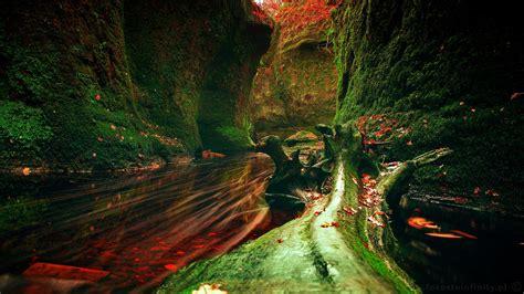 Devils Pulpit Scotland 1920×1080 Oc Reddit Photo