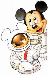 Mickey Mouse Astronaut (page 3) - Pics about space