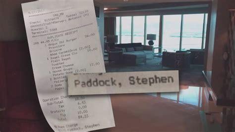 las vegas gunman ordered  hotel room service
